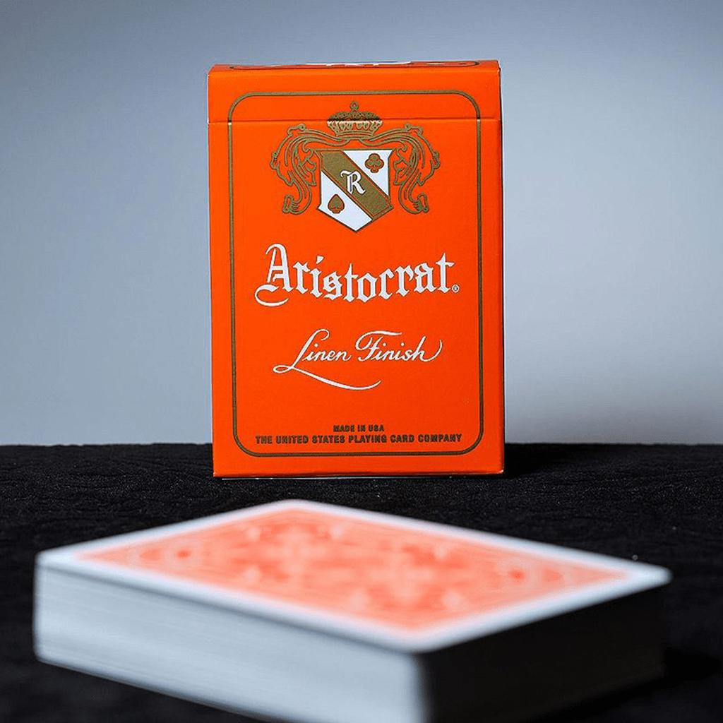 Baralho de Cartas Aristocrat Edição Laranja