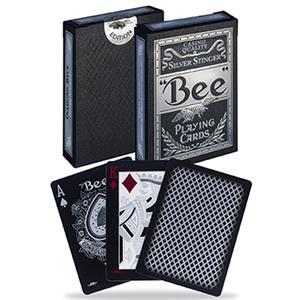 Baralho de Cartas Bee Silver Stinger
