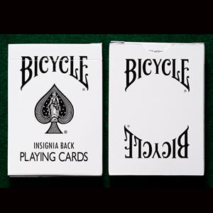 Baralho de Cartas Bicycle Insignia Branco