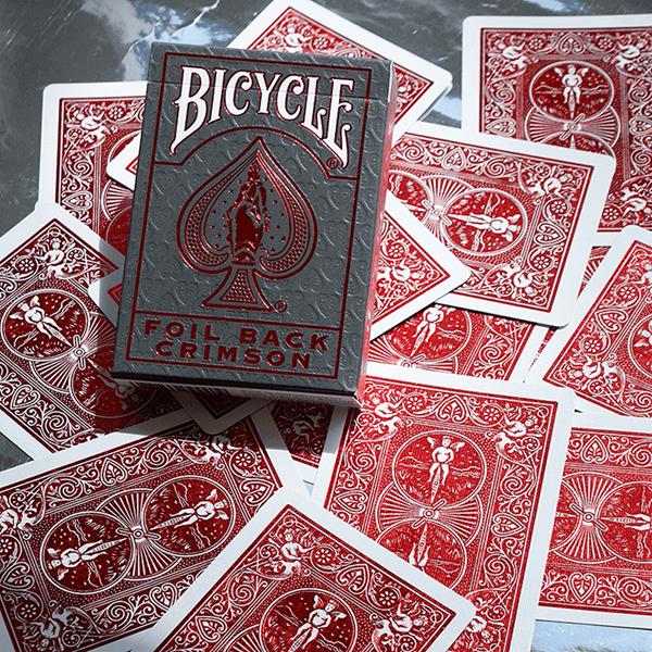 Baralho de Cartas Bicycle Metalluxe Foil Back