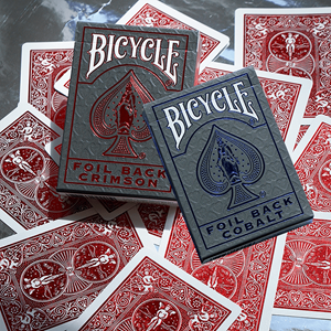Baralho de Cartas Bicycle Metalluxe Foil Back