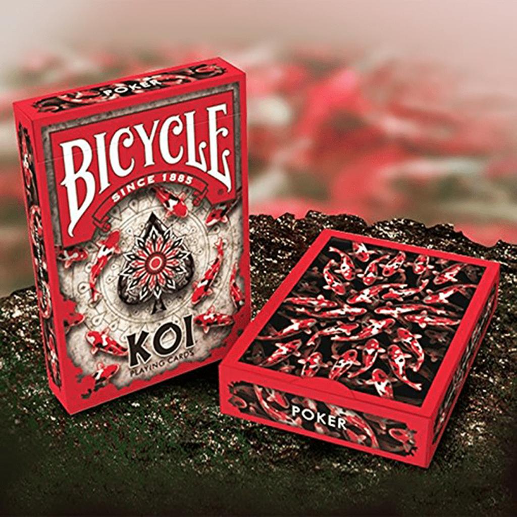 Baralho de Cartas Cartomagia Bicycle Koi