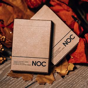 Baralho de Cartas Cartomagia NOC on Wood