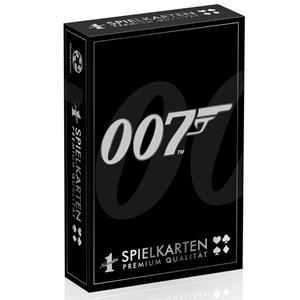 Baralho de Cartas Coleção 007 James Bond