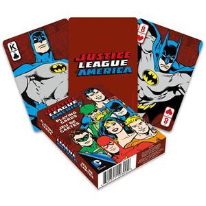 Baralho de Cartas Coleção DC Liga Justiça Retro