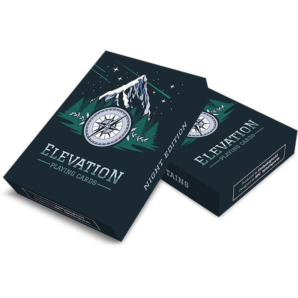 Baralho de Cartas Coleção Elevation Night Edition
