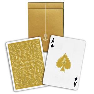 Baralho de Cartas Coleção Gold Icon
