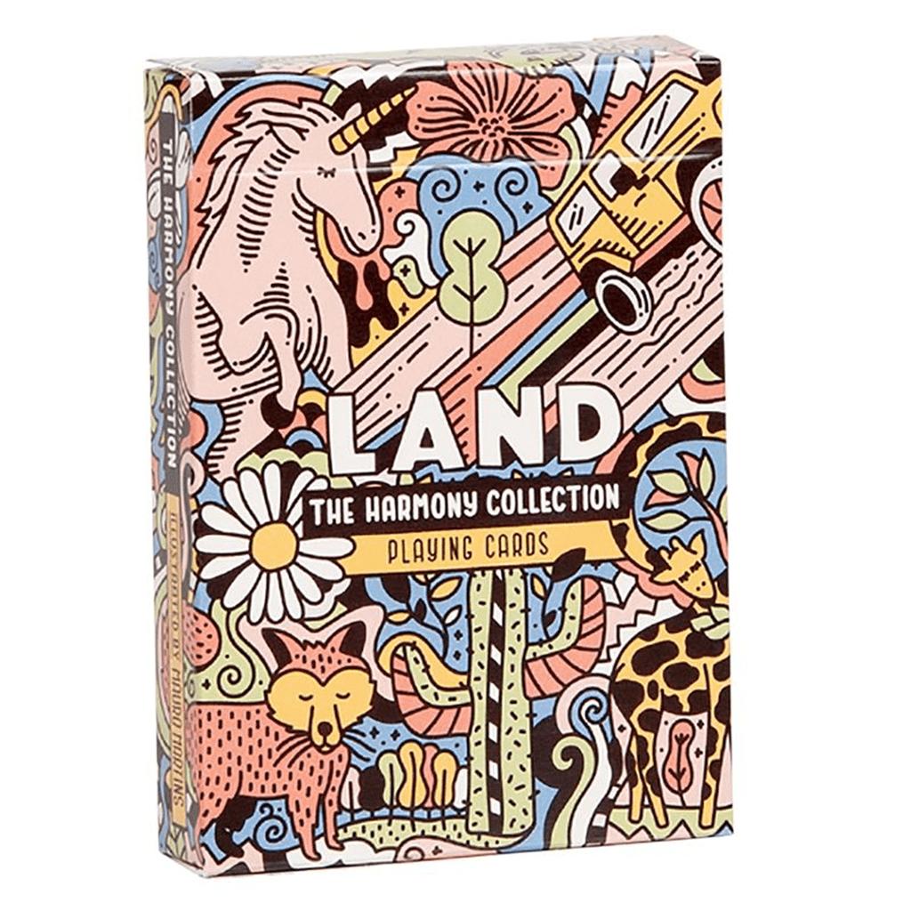 Baralho de Cartas Coleção Harmony - Land