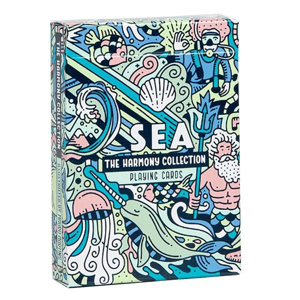 Baralho de Cartas Coleção Harmony - Sea