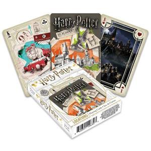 Baralho de Cartas Coleção Harry Potter Hogwarts