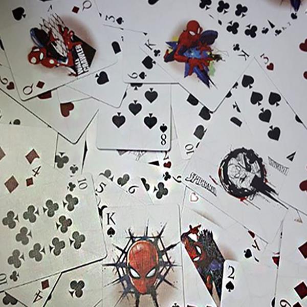 Baralho de Cartas Coleção Marvel Spider-Man