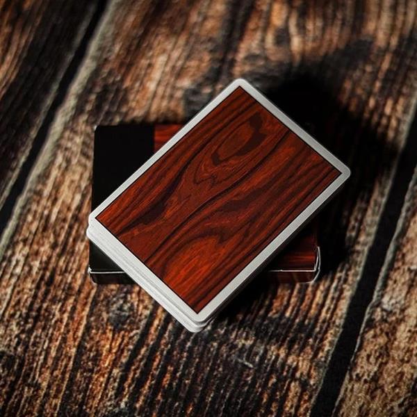Baralho de Cartas Coleção MYNOC 3 Wood