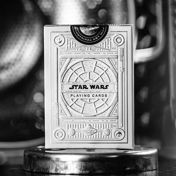 Baralho de Cartas Coleção Star Wars Silver Light Side