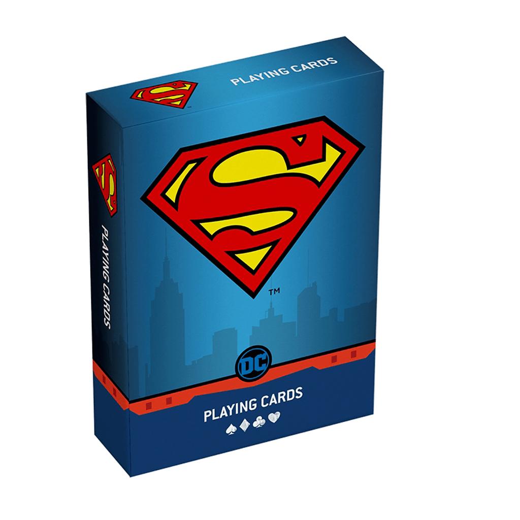 Baralho de Cartas Coleção Super Heróis DC Superman