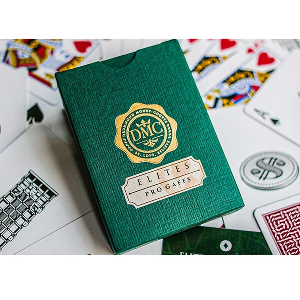 Baralho de Cartas DMC Elites Pro Gaff Verde