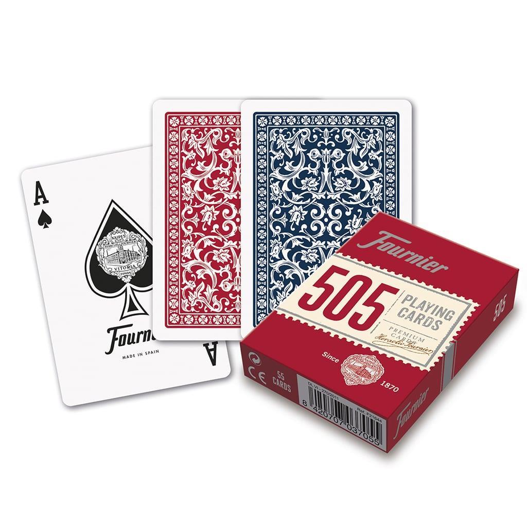 Baralho de Cartas Jogo Fournier 505