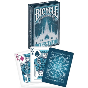 Baralho de Cartas Magia Bicycle Frosted