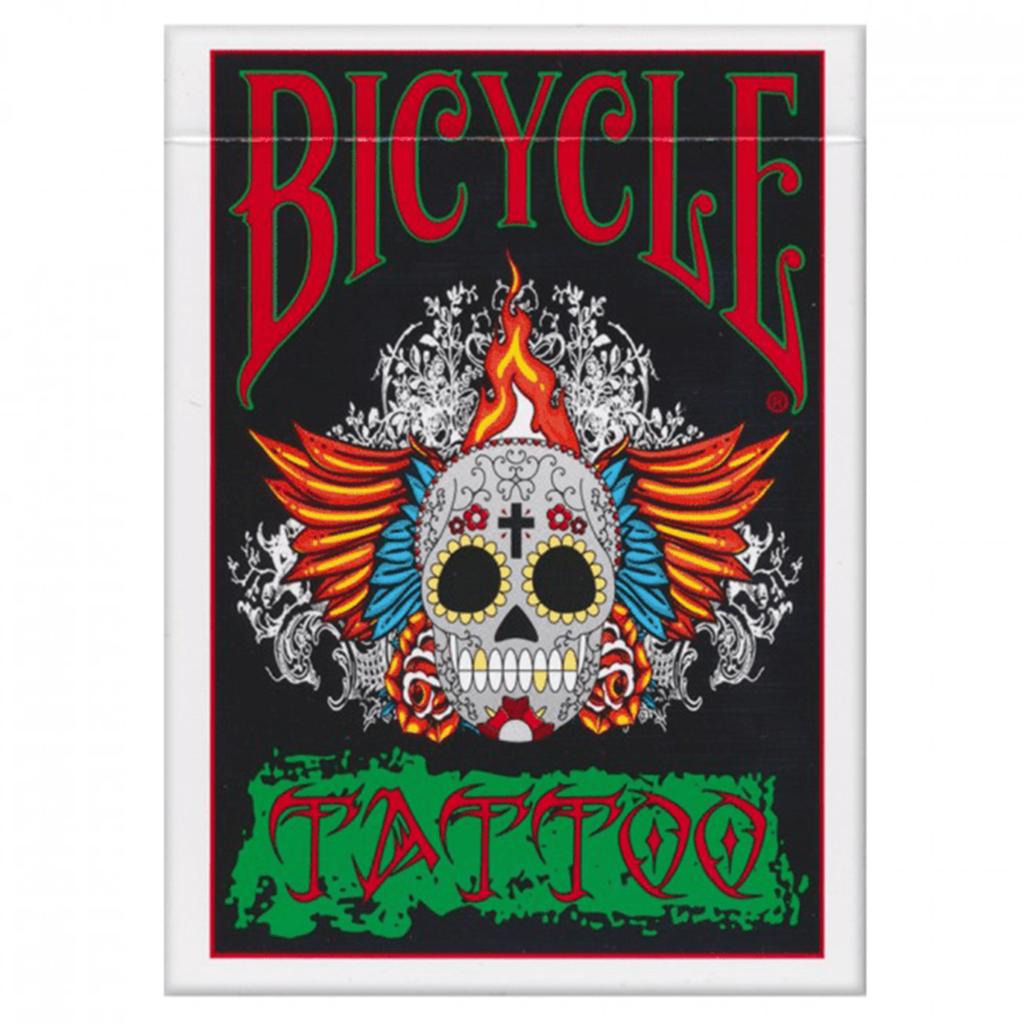 Baralho de Cartas Magia Bicycle Tattoo