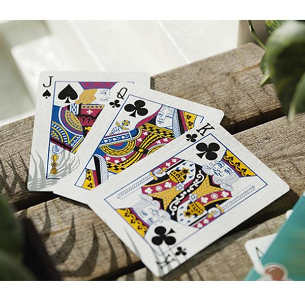 Baralho de Cartas Magia Cherry Casino Topicana Teal