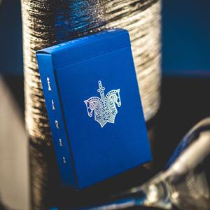 Baralho de Cartas Magia Knights Azul
