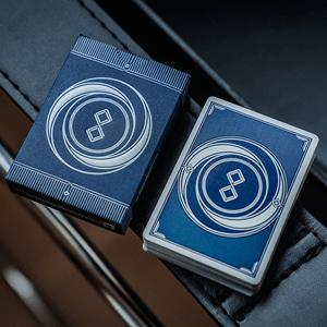 Baralho de Cartas Magia Mirage V4 Azul
