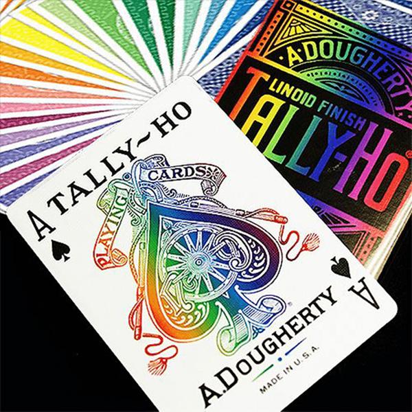 Baralho de Cartas Magia Tally Ho Spectrum