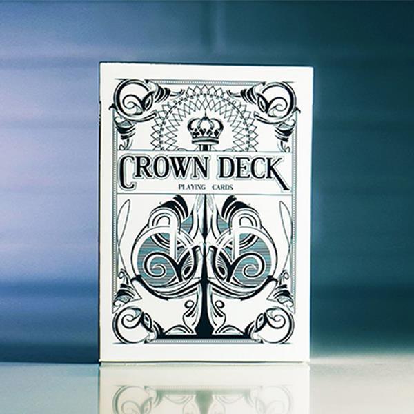 Baralho de Cartas Magia The Crown Branco