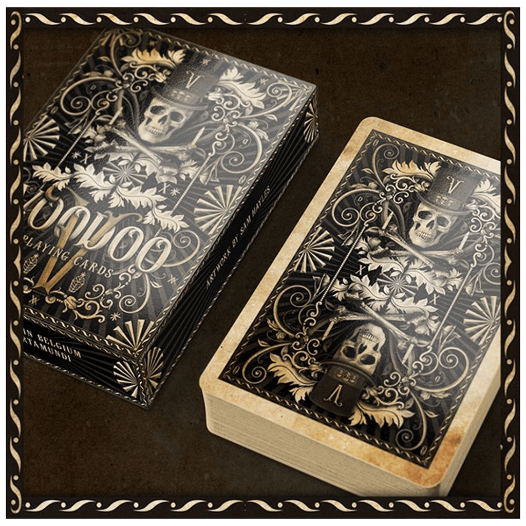 Baralho de Cartas Magia Voodoo