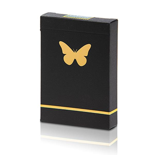 Baralho de Cartas Marcado Butterfly Dourado