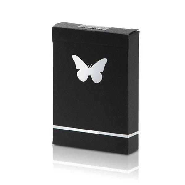 Baralho de Cartas Marcado Butterfly Prateado