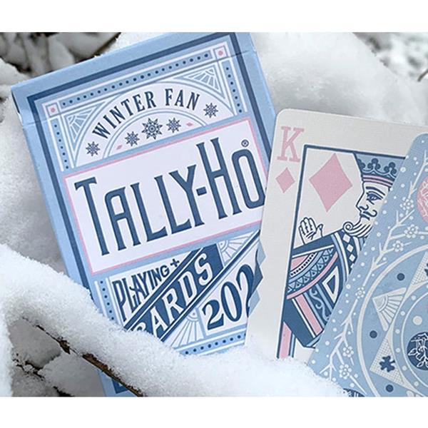 Baralho de Cartas Tally-Ho Winter Fan Back