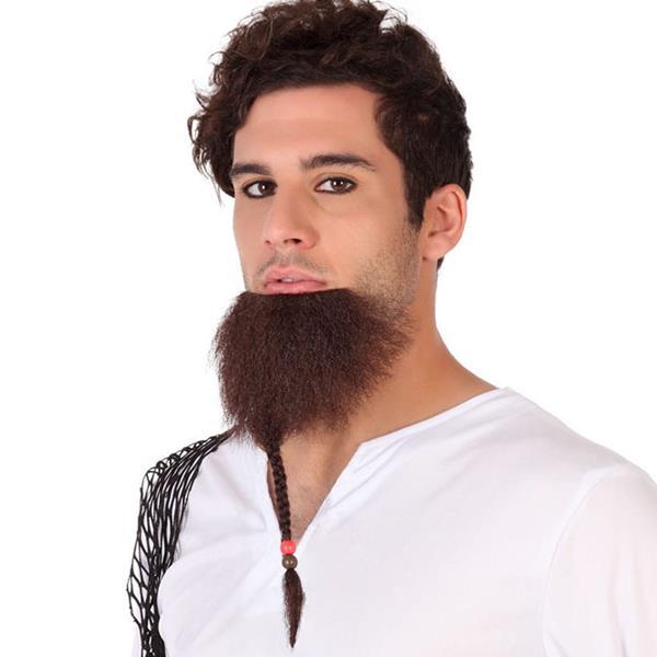 Barba Castanha com Trança