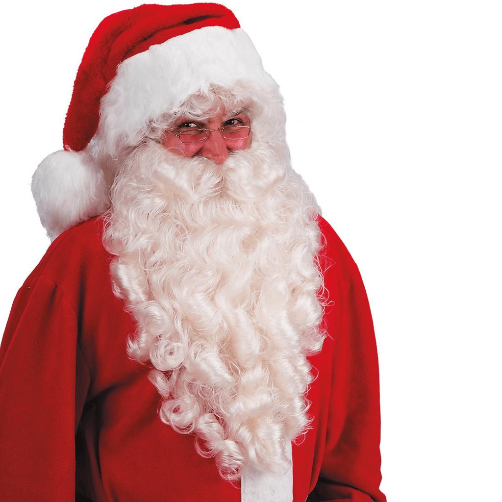 Barba de Pai Natal Elegante