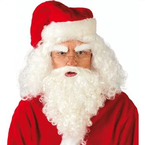 Barba mais Peruca Pai Natal
