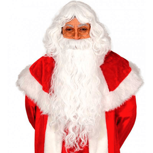 Barba e Peruca Pai Natal