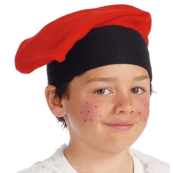 Barretina Campino, criança