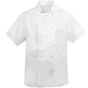 Bata Cozinheiro Branca Manga Curta
