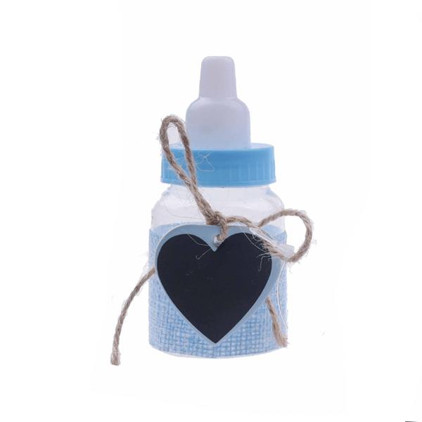 Biberon Baby Shower Azul