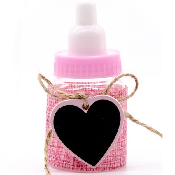 Biberão Baby Shower Rosa