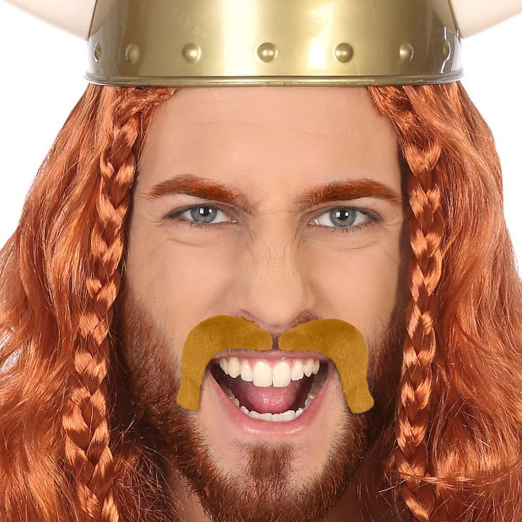 Bigode Castanho Viking