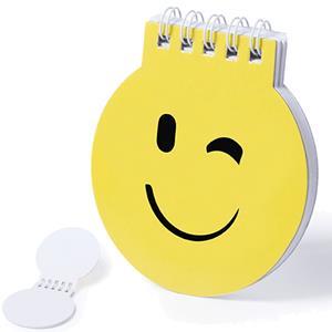 Bloco de Notas Emoji Piscadela