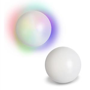 Bola de Cristal Luminosa em Plástico, 12.5 cm
