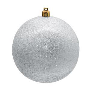 Bolas de Natal Prateadas, 8 cm, 16 unid.