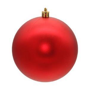 Bolas de Natal Vermelhas, 8 cm, 16 unid.