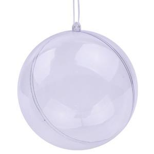 Bolas Transparentes, 14 cm, 4 unid.