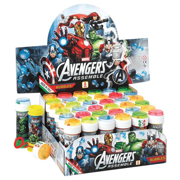 Bolinhas de Sabão Avengers