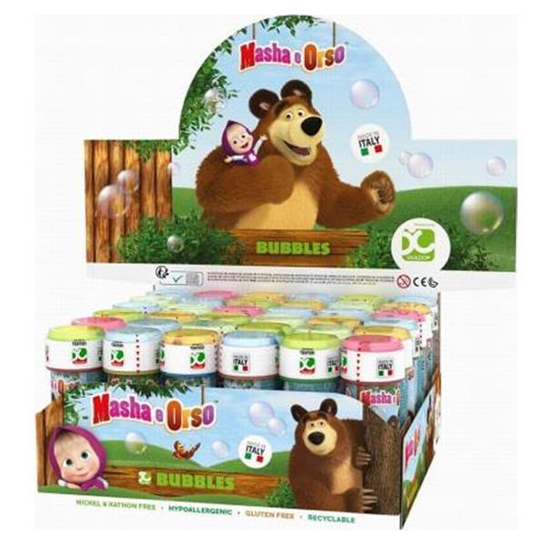 Bolinhas Sabão Masha e o Urso