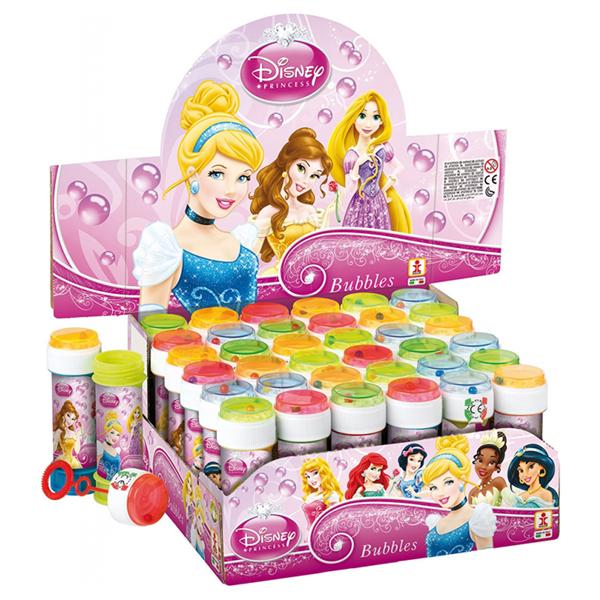 Bolinhas Sabão Princesas Disney