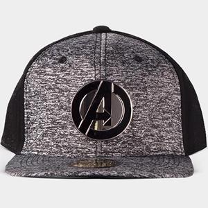 Boné Avengers Logo Metal Marvel