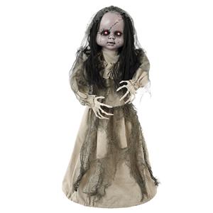 Boneca Bailarina com luz e som, Halloween